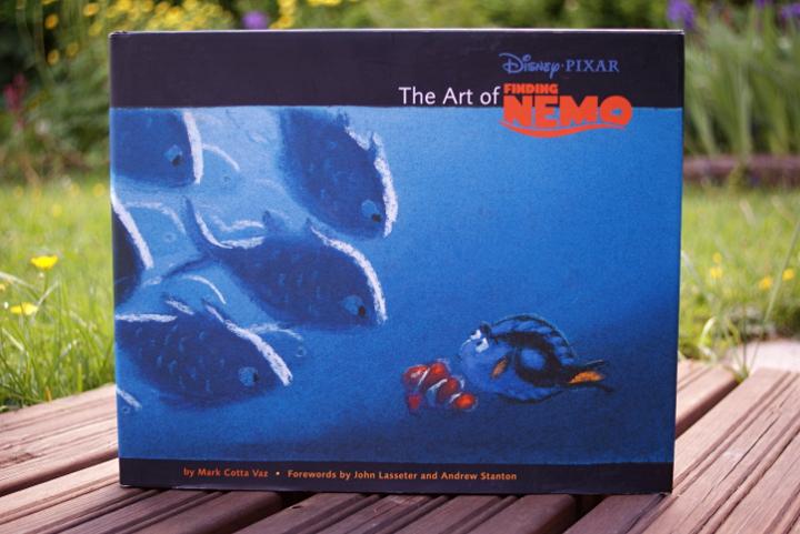 Nemoa etsimässä taidekirja | The art of Finding Nemo - Disnerd dreams
