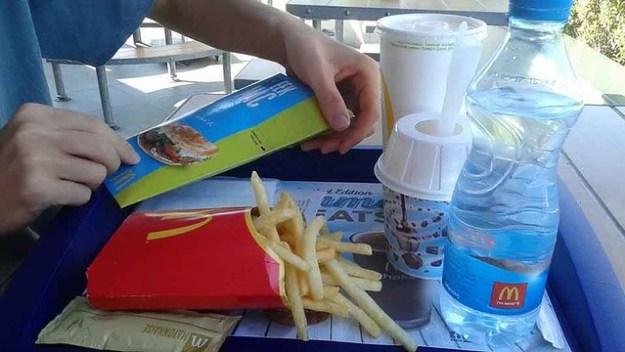 McDonalds Greek Burger