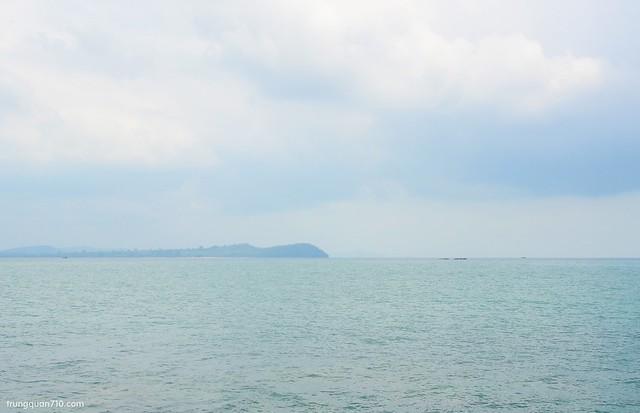 Campuchia nhìn từ mũi Gành Dầu