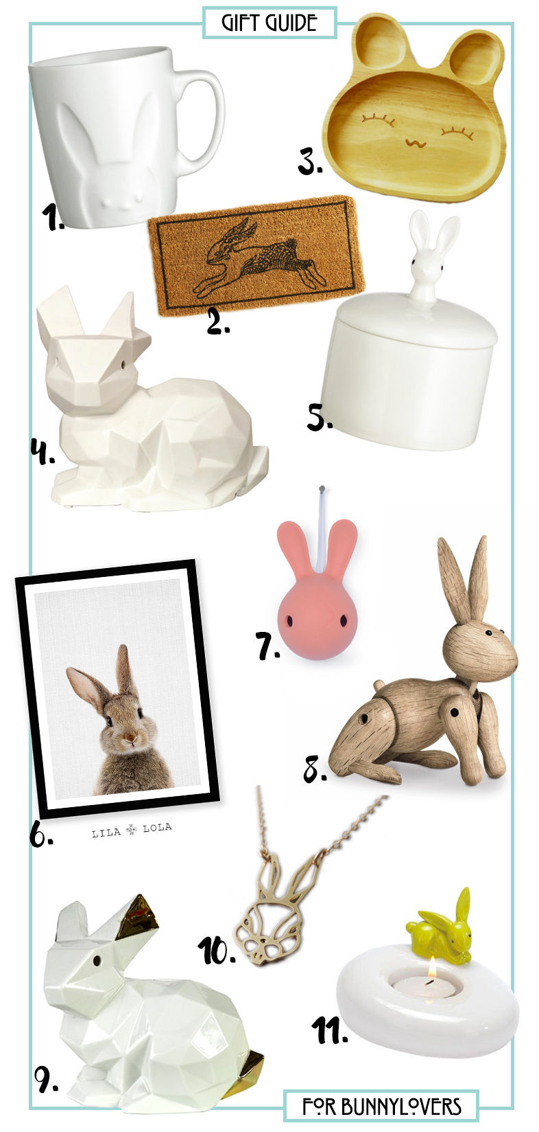 Gift guide for Bunny lovers