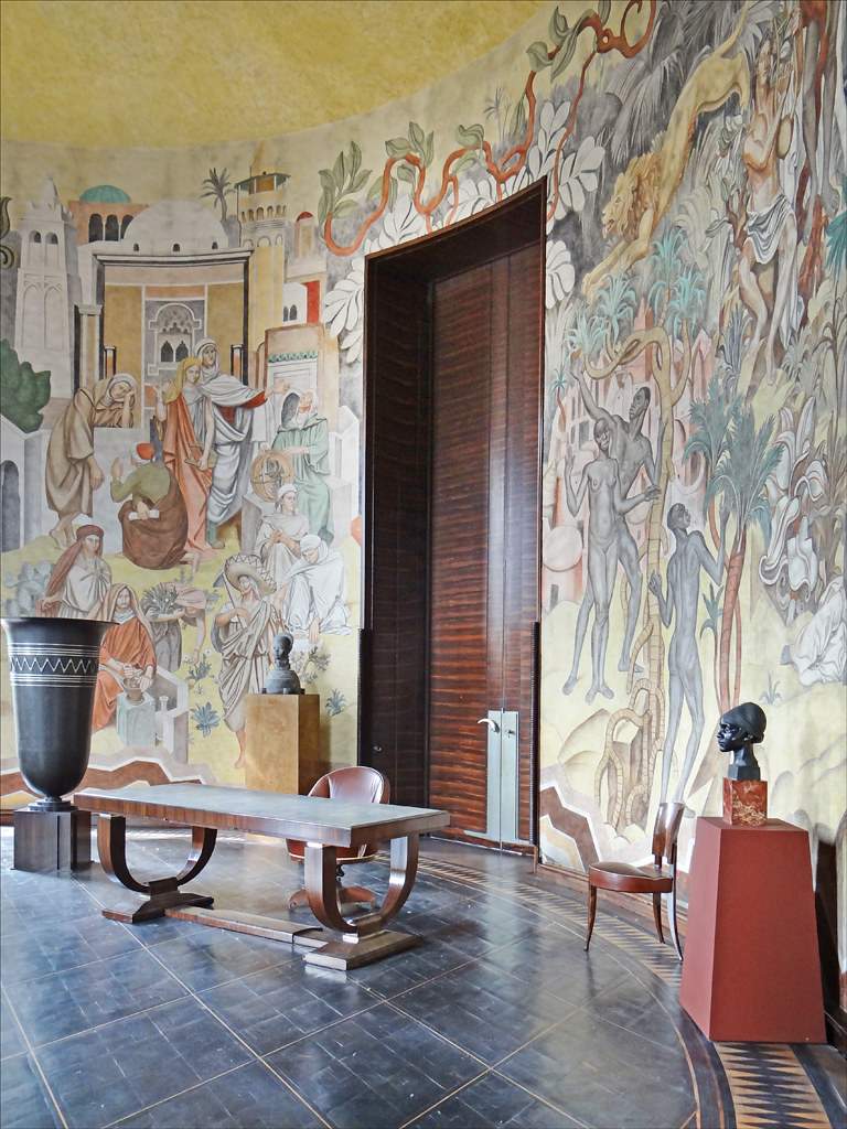 Le Salon De Paul Reynaud Palais De La Porte Dore Flickr