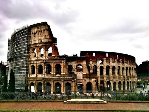 Patrimonio de la Humanidad en Europa y América del Norte. Italia. Centro histórico de Roma.