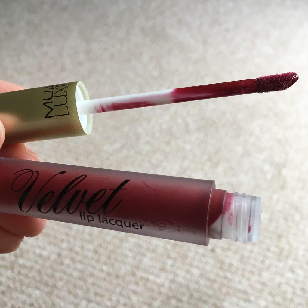 MUA Luxe Velvet Lip Lacquer Firecracker