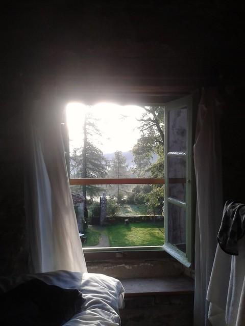 Uitzicht vanaf onze kamer (grappig dat deze foto op flickr al bijna 7500 keer bekeken is)