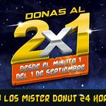 nuevo sabores GALACTICOS  donas 2x1 todo septiembre 2014