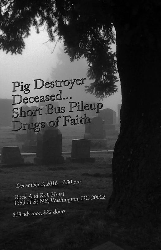 Pig Destroyer at Rock & Roll Hotel
