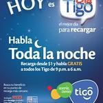 Con las recargas TIGO hablas toda la noche - 10sep14