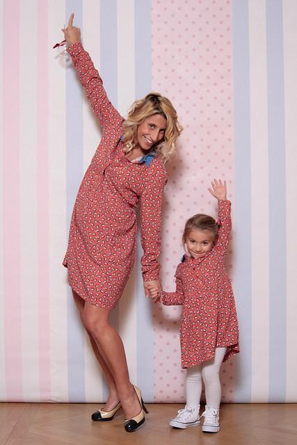 envie de fraise per mamma e figlia