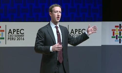 Mark Zuckerberg puso como ejemplo a Mariana Costa, una joven peruana que abrió un laboratorio de ayuda para que mujeres talentosas de escasos recursos se conviertan en desarrolladoras web.