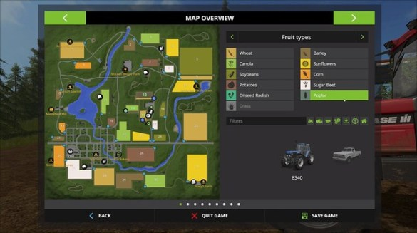 Farming Simulator 2017 - Map Overview