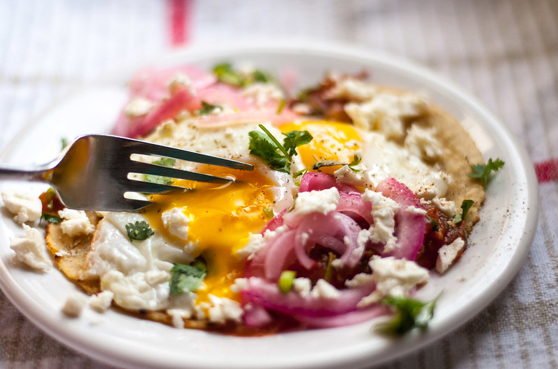 Huevos rancheros from the Summer Stovetop Cooking mini eCookbook