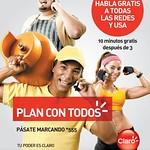 Habla GRATIS a USA con tu telefono CLARO - 21jul14