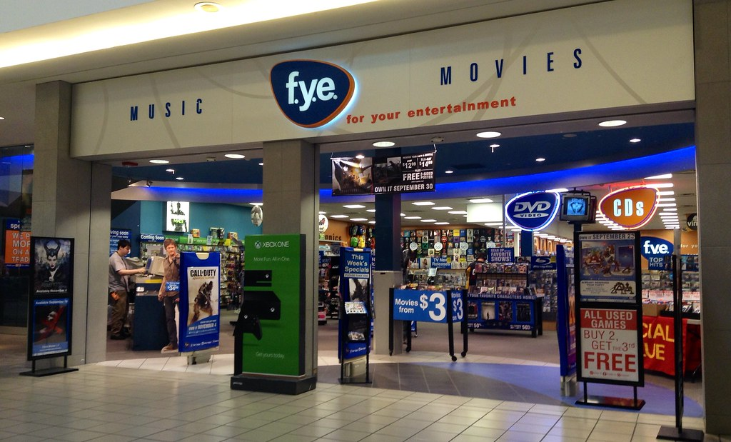 FYE FYE For Your Entertainment Store 92014 Pic By