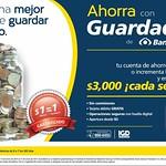 GANA 3000 doalres con Banco Azteca ahorra con guardadito - 29ago14