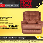 Sillon reclinable COMMODITY La curacao Republica Dominicana