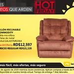 Sillon reclinable COMMODITY La curacao Republica Dominicana