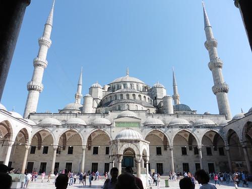 Patrimonio de la Humanidad en Europa y América del Norte. Turquía. Zonas históricas de Estambul.