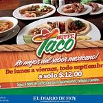 Restaurante los cebollines BUFFE TACO comida mexicana - 08sep14