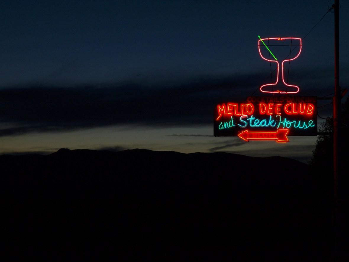 Mello Dee Club and Steak House - 175 Sunset Drive, Arco, Idaho U.S.A. - June 15, 2014