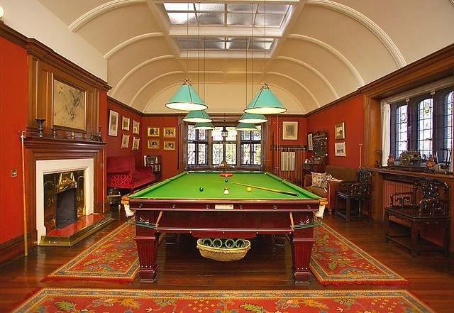 Olveston billiard room