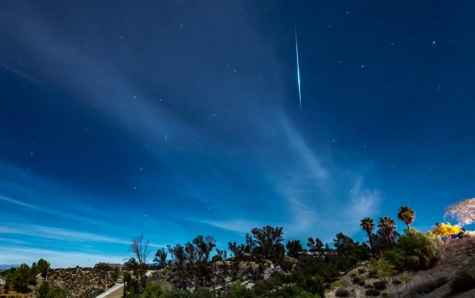 Geminid meteor