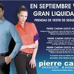 Gran liquidacion en septiembre PIERRE CARDIN outlet