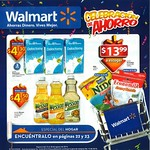 ofertas WALMART  celebracion del ahorro - agosto 14