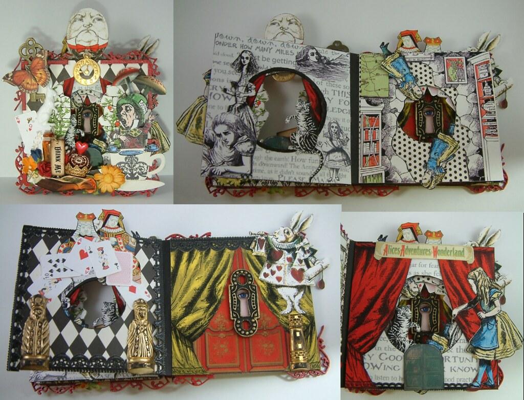 Alice In Wonderland Tunnel Book Laura Carson Flickr