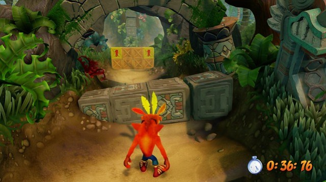 Crash Bandicoot N Sane Trilogy, Time Trials