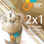 Promocines en CAFE frappes 2x1 en medi cafe la prensa grafica - 25jul14