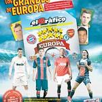 futbol ALBUM grandes de europa el grafico - 10sep14