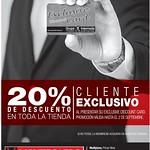 Exclusive client GENTLEMAN for montecarlo store for men - 16ago14