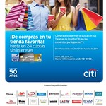 to Shpping into your favorite store DISCOUNTS citibank - 29ago14