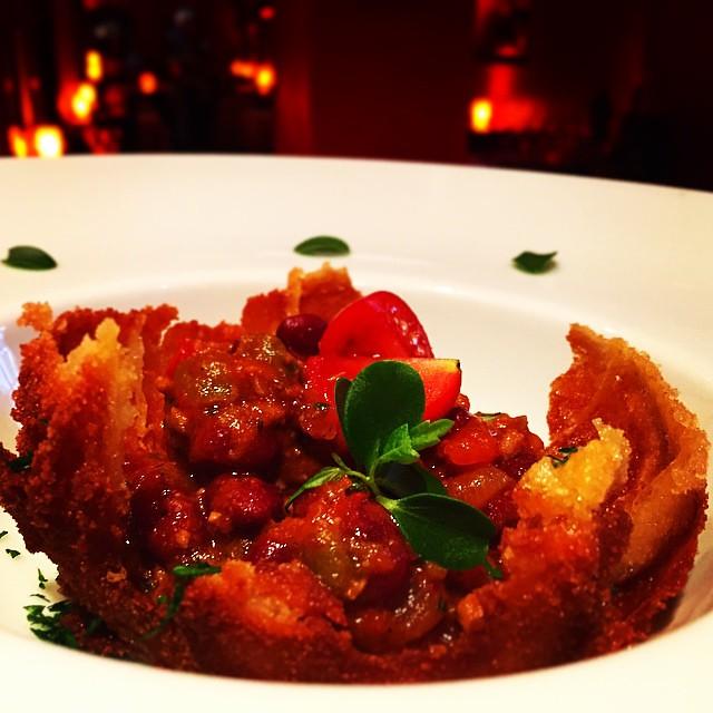 Chili de carne. Cocina TEX-MEX