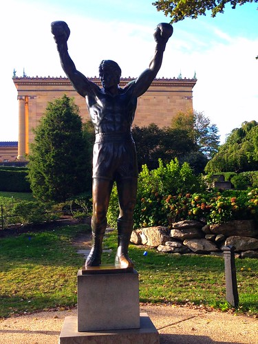 statua Rocky Philadelphia