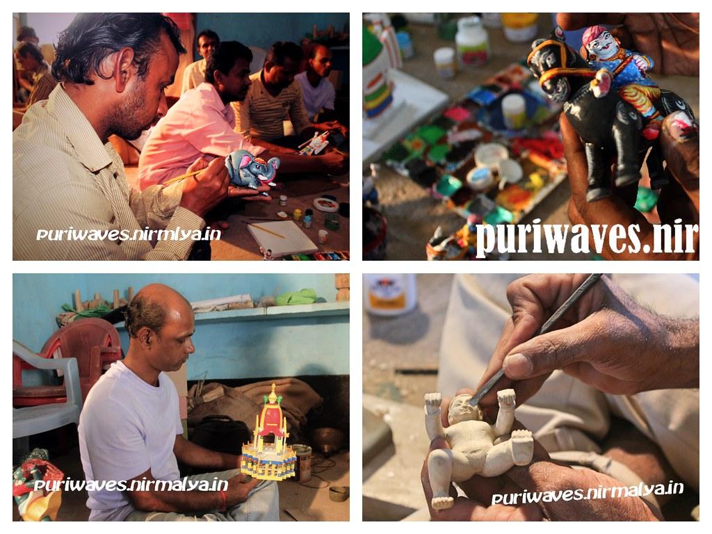 Painted Wooden Toys Craft Workshop - Pathuria Sahi Puri