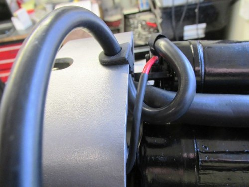 """(+) Battery and """"Red"""" Solenoid Wire Routing"""