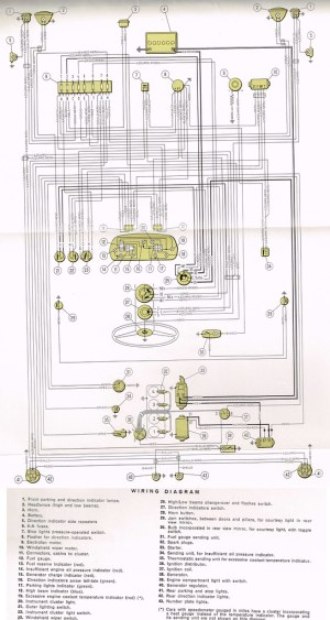 Wiring Diagram Fiat 850 Special | Electrical Diagram