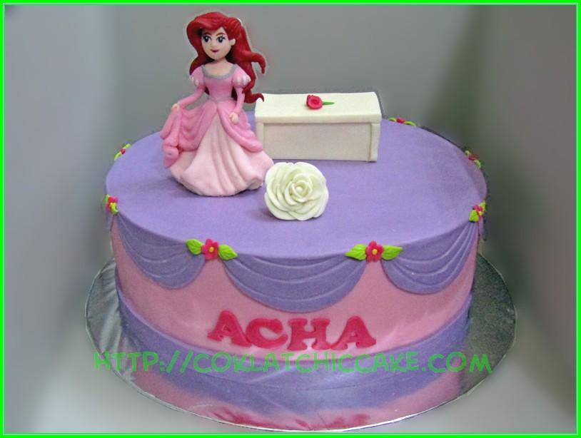 Cake Disney Ariel Acha Jual Kue Ulang Tahun