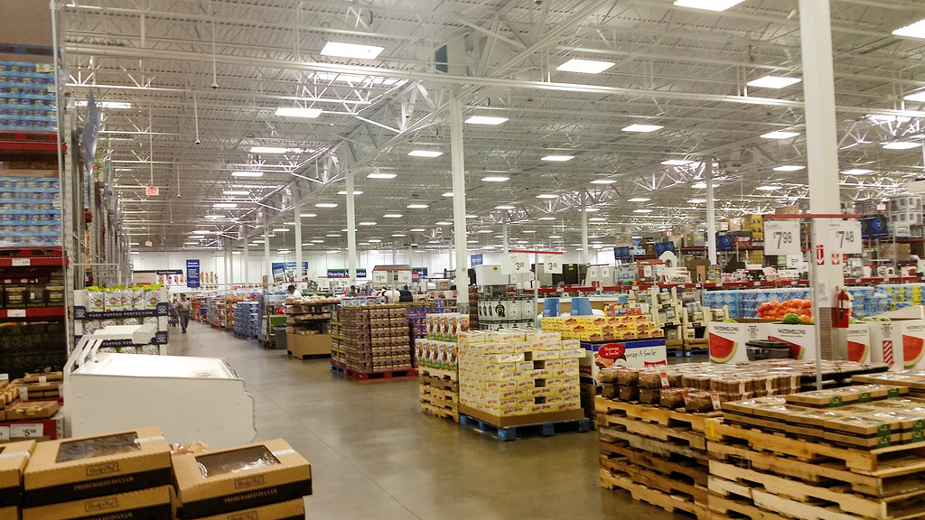 Sam S Club Interior This Sam S Club Store Appears To