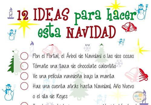 Lista de ideas para hacer en Navidad