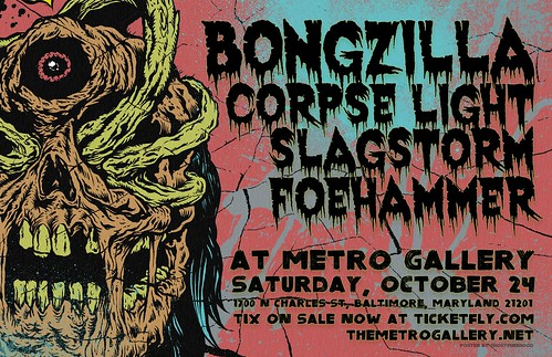 Bongzilla at the Metro Gallery
