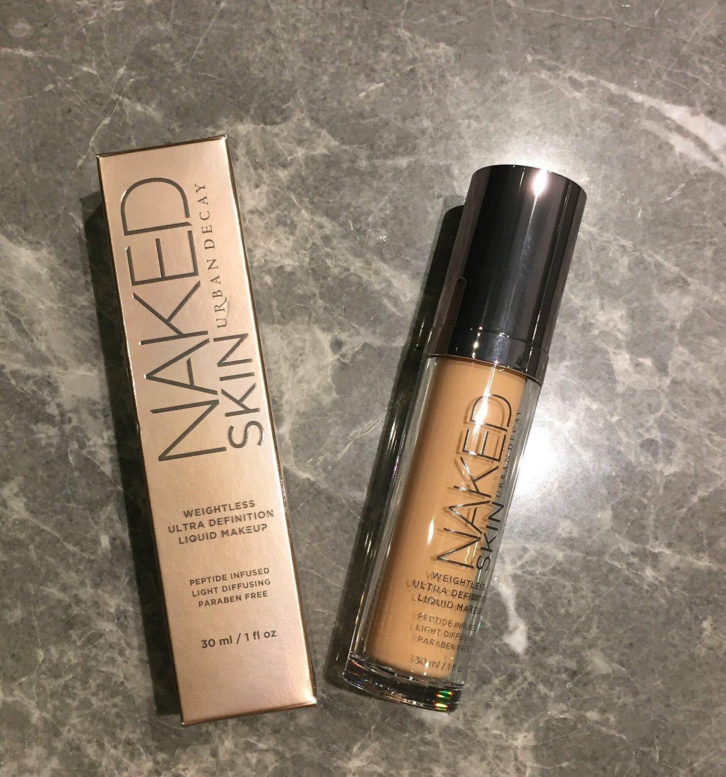 urban decay naked skin foundation review 2.0