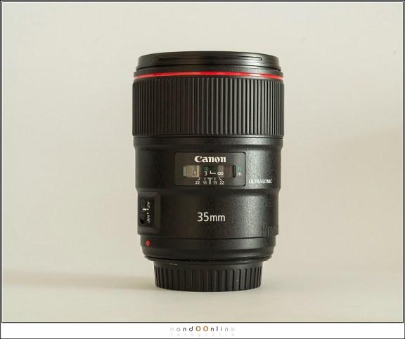 De Canon EF 35mm f/1,4L II USM
