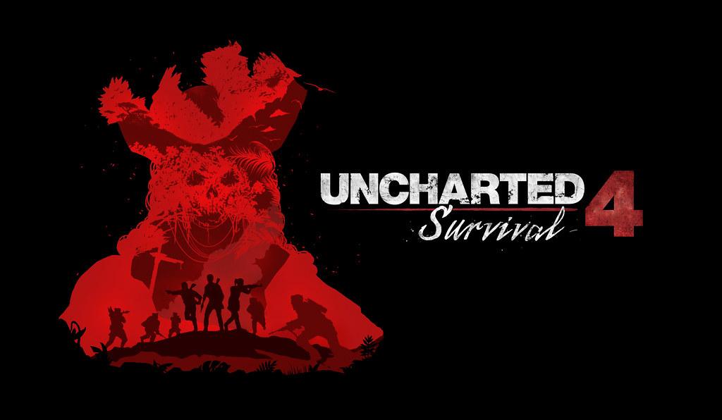 Uncharted 4 Survival mode artwork