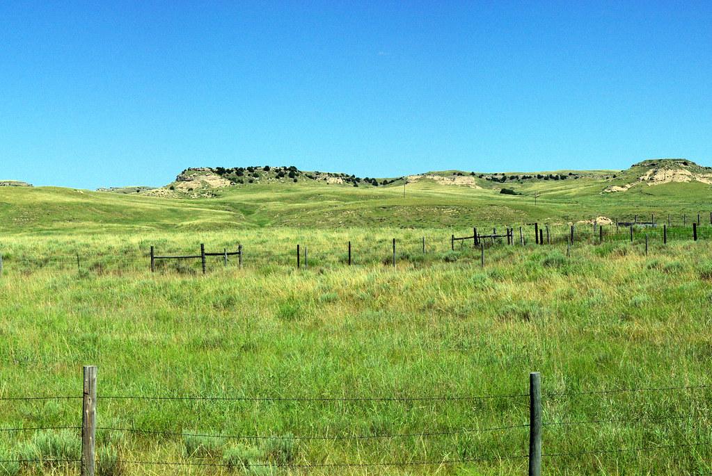 """""""Ancient Bluff Ruins"""" on the emigrant trails, near Broadwater, Nebraska, July 9, 2010"""
