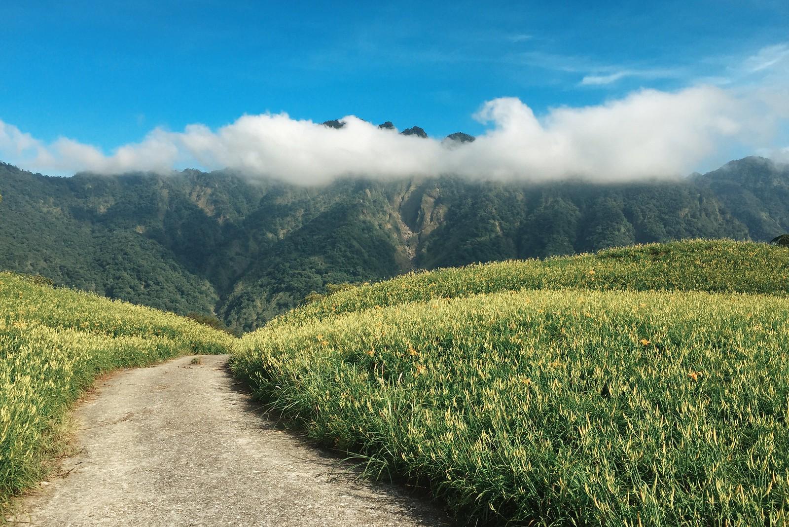 Otro de los espectaculares paisajes de montaña de Taiwán