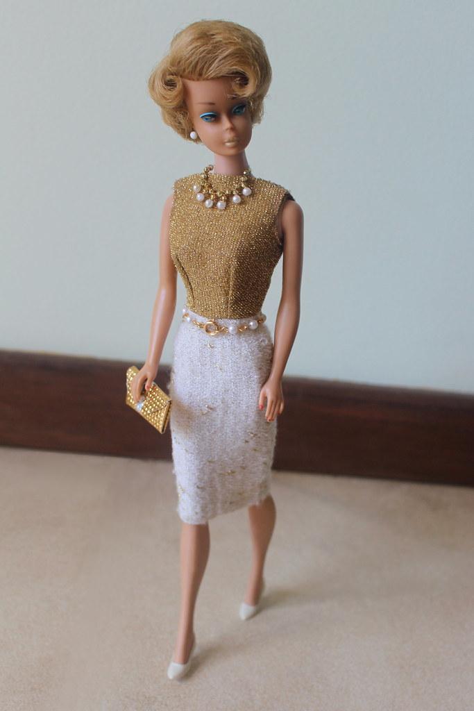 Ash Blonde Side Part Bubble Cut Barbie Doll Here She Is