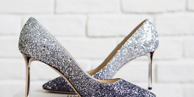 ▌那些年‧我認真買的鞋 ▌ Jimmy Choo亮片高跟鞋,踩著星星漫步雲端
