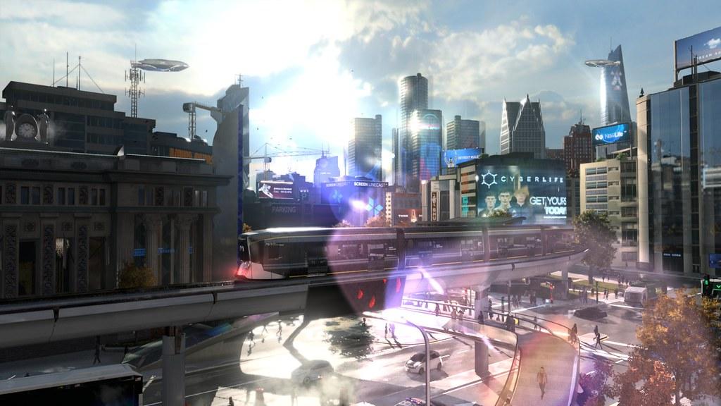 Quantic Dream Announced Detroit: Become Human 8